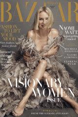 Harper's Bazaar August issue.