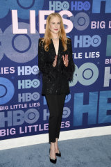 Take a cue from Nicole Kidman and buy black at the sales ... you can't go wrong.