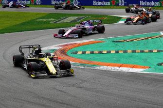 Daniel Ricciardo and Renault had their best performance of the season at the Italian Grand Prix.