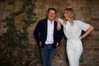 Karl Stefanovic and Allison Langdon will host Today in 2020.