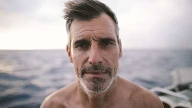 """""""The solution is in our hands, but we need to change how we use plastic"""": Distance swimmer Ben Lecomte will swim through a massive patch of plastic waste in the Pacific Ocean."""