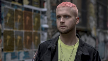 Christopher Wylie, who helped found the data firm Cambridge Analytica and worked there until 2014, in London, March 12, 2018.