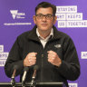 Premier Daniel Andrews said he'd skip the beers and move to a higher shelf.