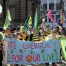 Former senator Scott Ludlam among climate protesters arrested