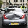 Boris Johnson involved in minor car crash outside parliament