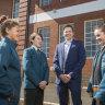 Preston on a high over fledgling secondary school as enrolments soar