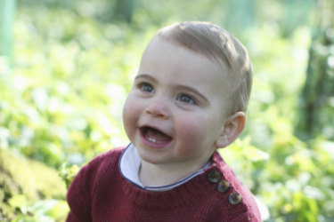 Kensington Palace have released new photos of Prince Louis to mark his first birthday.