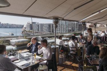 Cafe Sydney, Circular Quay.
