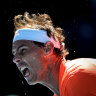 Nadal advances, Medvedev's Open stocks rising
