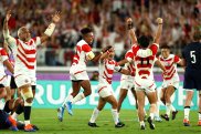 Japan's historic win over Scotland at the 2019 World Cup attracted 58.4 million viewers, the largest ever rugby TV audience.