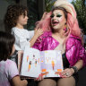 'Are you a man or a woman?' Drag queen used to kids' curly questions