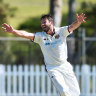 Neser stars with five, Green among the runs in Shield