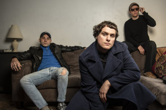 Sydnet indie rockers the DMA'S are swapping their Britpop sound for a splash of dance music with new album THE GLOW.