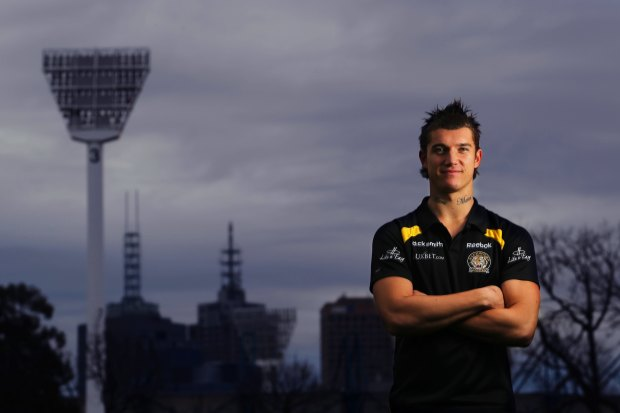 Martin, who impressed coaches immediately at Richmond, in 2010.