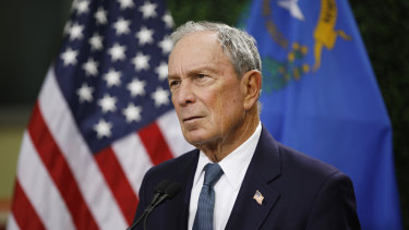Former New York City mayor Michael Bloomberg is donating $US500 million into an effort to move the United States to a 100 per cent clean energy economy and to close all of the nation's remaining coal plants by 2030.