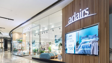 Adairs has seen a jump in trade following store reopenings in May.