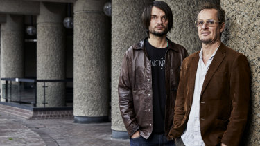 "Richard Tognetti on Jonny Greenwood (left): ""I do want Jonny to write more for the ACO, but he has a lot of planes on the runway and we are just one of them."""