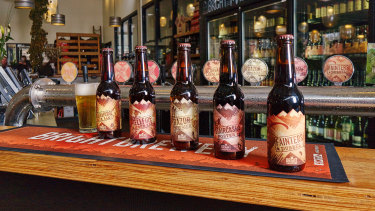 Bright Brewery has shut its doors temporarily as the town faces a horror forecast for Saturday.