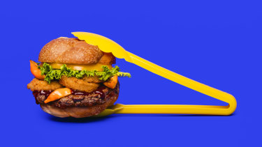 The Impossible Burger. The two big disrupters are Impossible Foods and Beyond Meat.