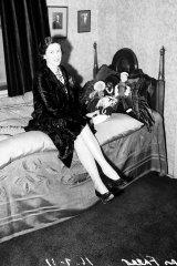 Mabel Freer pictured in Sydney on July 16, 1937.