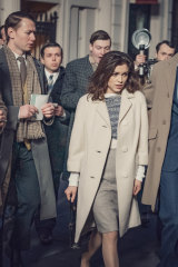 Sophie Cookson in The Trial of Christine Keeler.