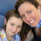 Danielle Smyth with her daughter Halle Kiehne.