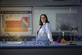 Chemistry teacher Melissa MacEoin.