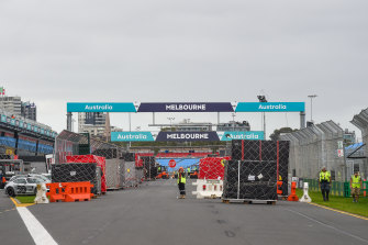 The Melbourne Grand Prix was cancelled last year at late notice and has been postponed this year to November.