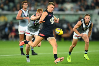 Carlton star Patrick Cripps is adamant he can continue to adjust his playing style to suit the pace of modern footy.
