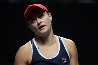 Ashleigh Barty clinched the year-end top ranking just by taking to the court.