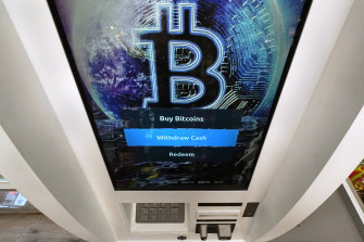 Bitcoin suffered a 39 per cent fall in May.