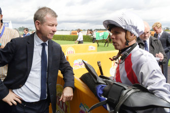 Newcastle trainer will saddle up Geo for his first race start at Newcastle on Sunday.