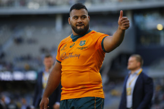 Taniela Tupou will also start against South Africa.