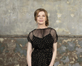 """Jacqueline McKenzie: """"I don't want to lose things I have now. So if going back to that time would make that happen, why would I want that? I love my life and the people in it."""""""