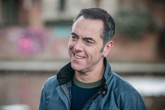 Back again: James Nesbitt as Adam Williams in Cold Feet.