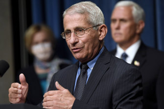 Dr Anthony Fauci has told people to be vigilant this coming long weekend to prevent another uptick in cases.