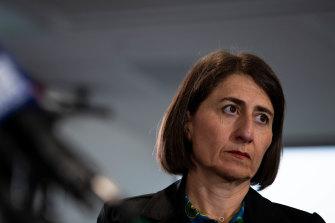 NSW Premier Gladys Berejiklian is under increasing pressure over mandatory mask wearing for Sydney residents.
