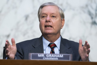 Republican Senator Lindsey Graham was a Trump critic turned cheerleader.