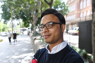 Sydney pharmacist Abdullah Ahmed has been waiting three years to get his fiancee out of Cox's Bazar.