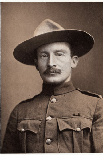 Robert Baden-Powell, the father of the modern scouting movement.