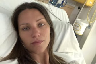Ashley Berini is in and out of hospital as she experiences relapses.