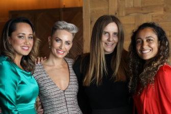 Rebekah Giles, Taryn Williams, Lisa Messenger andShona Vertue at 'The Lunch 2019
