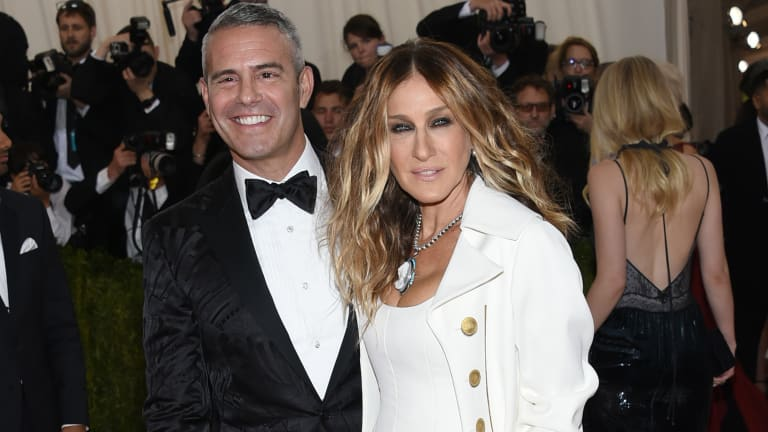 Andy Cohen and Sarah Jessica Parker went as each other's dates at the The Metropolitan Museum of Art Costume Institute Benefit Gala in 2016.