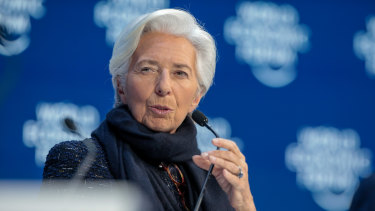 ECB President Christine Lagarde sent a grim warning about Europe's economic prospects.