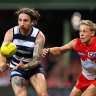 As it happened: Swans pip Cats; Lions thump Power; Suns stun Pies; Saints thrash Hawks, GWS pummel Crows