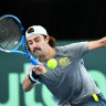 Jordan Thompson first up for Australia in Davis Cup