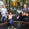 Feeling kinda sporty: Kids find new ways to stay active in lockdown