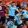 Waratahs fend off more drama to beat Reds and keep season afloat