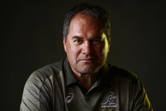 Wallabies coach Dave Rennie.
