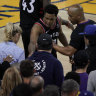 Warriors minority investor gets one-year ban for Lowry shove